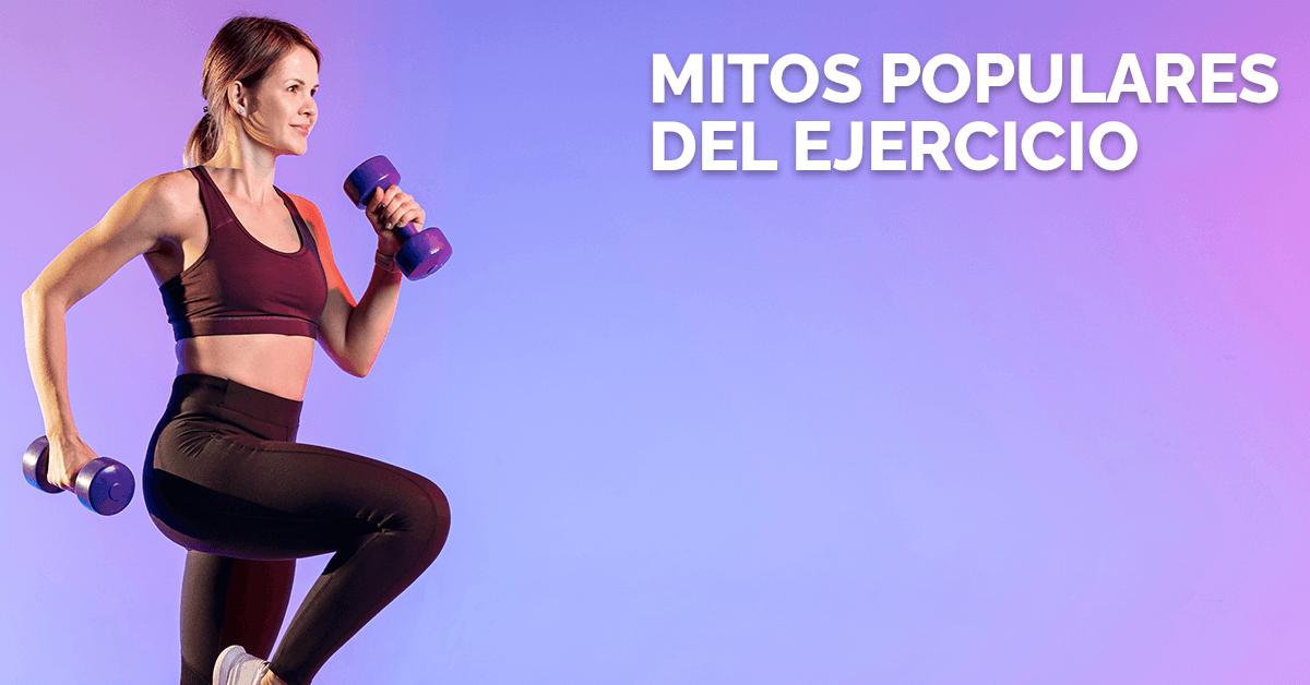 Mitos populares del ejercicio