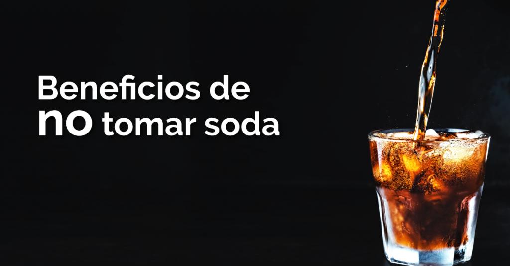 Dejar de tomar soda para bajar de peso