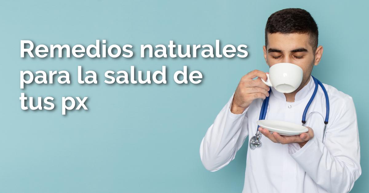 4 remedios naturales que mejorarán la salud de los pulmones de tus pacientes