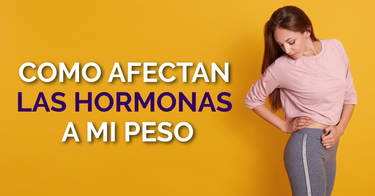 4 hormonas que pueden hacer que no bajas de peso