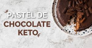 Pastel de chocolate Keto